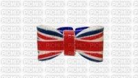 bague noeud papillon rouge bleu drapeau anglais london