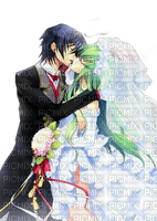 anime manga wedding couple