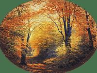 image encre couleur texture effet paysage automne edited by me