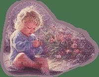 baby,fleur,purple,fille,Pelageya