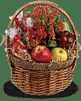 Kaz_Creations  Flowers  Basket Fruit Nuts
