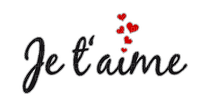Kaz_Creations Logo Text Love Je t aime