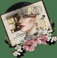 Kaz_Creations Deco Paris  Woman Femme