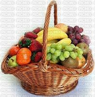 fruit frais bananes les raisins panier
