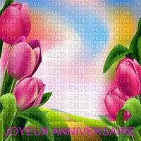image encre joyeux anniversaire fleurs tulipes mariage edited by me
