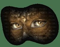 cecily-masque et yeux marrons