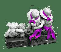 Kid, Kids, Infant, Infants, Baby, Babies, Pink, Purple - Jitter.Bug.Girl