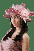 patymirabelle femme en rose chapeau