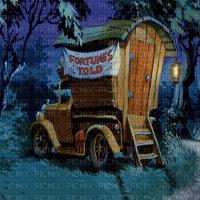 gypsy caravan bg GITANE WAGON FOND