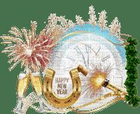 new year silvester fireworks clock text sekt deco