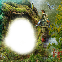 nature frame cadre