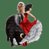 Red Black White Bull Range - Bogusia