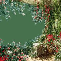 spring garden frame