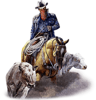 cowboy western man mann homme tube  person   human  people  cow boy cow-boy occidental wild west america horse pferde cheval animal