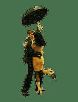 couple dancing in rain