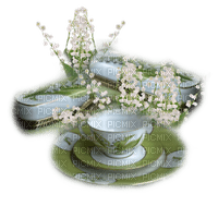 muguet deco tasse lily of the valley cup deco