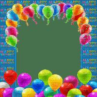 HAPPY BIRTHDAY FRAME cadre