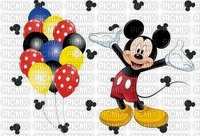 image encre bon anniversaire color effet  Mickey Disney edited by me