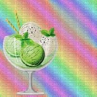 image encre couleur la crème glacée menthe été bon anniversaire mariage pastel arc en ciel violet rose vert edited by me