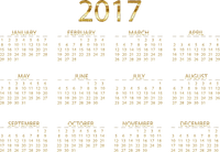 loly33 calendrier 2017 calendar