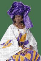 femme deco fond africa