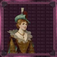 image encre couleur texture effet femme vintage chapeau edited by me