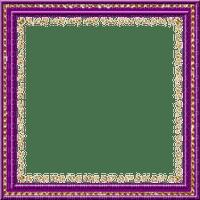 rfa créations- cadre violet et doré