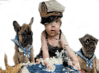 summer baby dog maritime bebe chien