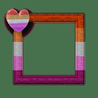 Lesbian Pride Frame