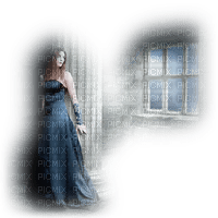 woman window gothic femme fenetre gothique