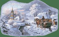 chantalmi déco noël landscape hiver winter paysage