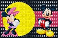 multicolore image encre noir rose blanc couleur effet à pois Mickey  Minnie Disney anniversaire edited by me