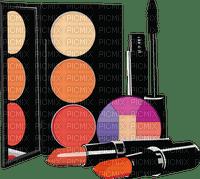 makeup tube deco  maquillage rouge schminke make-up scrap paint lipstick rouge à lèvres