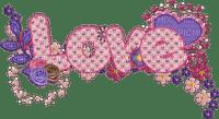 Kaz_Creations Deco Text Love