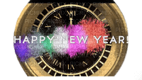 new year - clock
