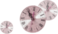 Pink Deco Clocks