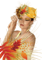 autunm  woman----höst kvinna -minou52