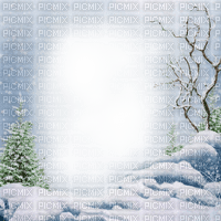 winter frame cadre hiver