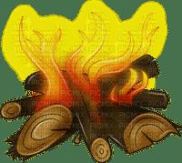 camp fire feu