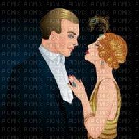 Art Deco couple bp