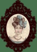 vintage fond woman