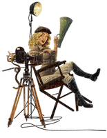 woman with camera bp