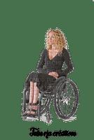 rfa créations - femme en fauteuil roulant.