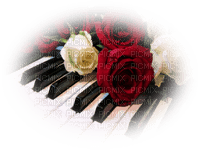 déco piano & fleurs