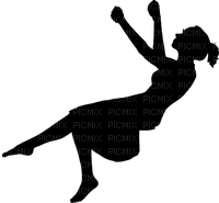 Kaz_Creations People Swing Girl Silhouette