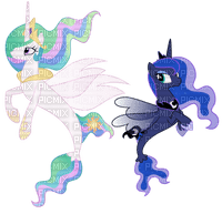 ✶ Princesses Luna & Celestia {by Merishy} ✶