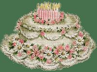 vintage birthday cake paintinglounge