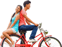 bike fahrrad bicyclette  couple
