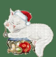 Chat Blanc (NOËL)