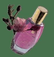 flacon perfume pink bottle flower fleur deco tube parfum